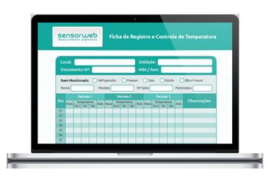 planilha controle temperatura